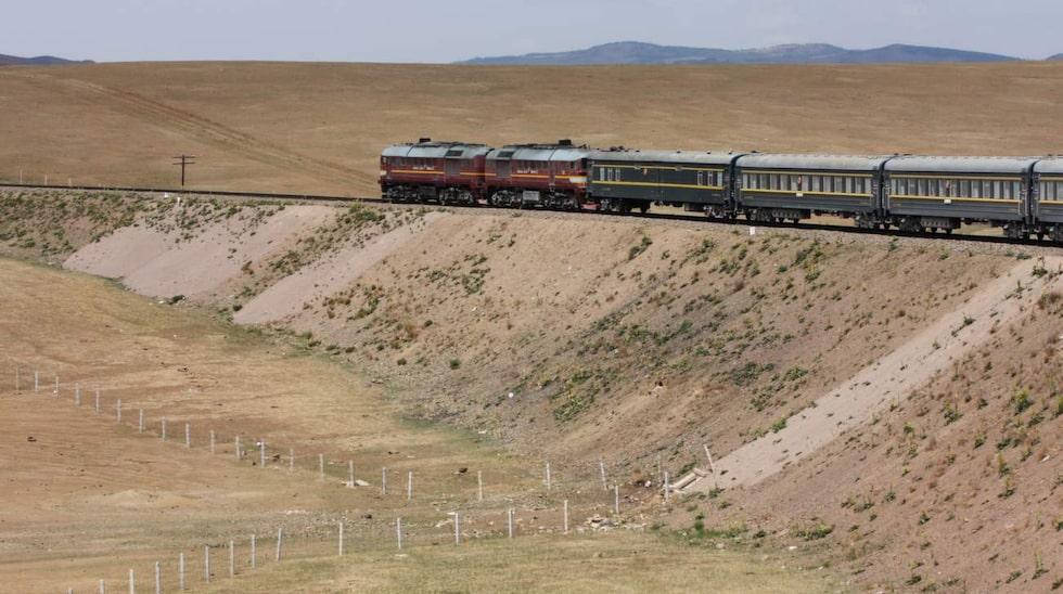 Klassiskern: Transsibiriska järnvägen.