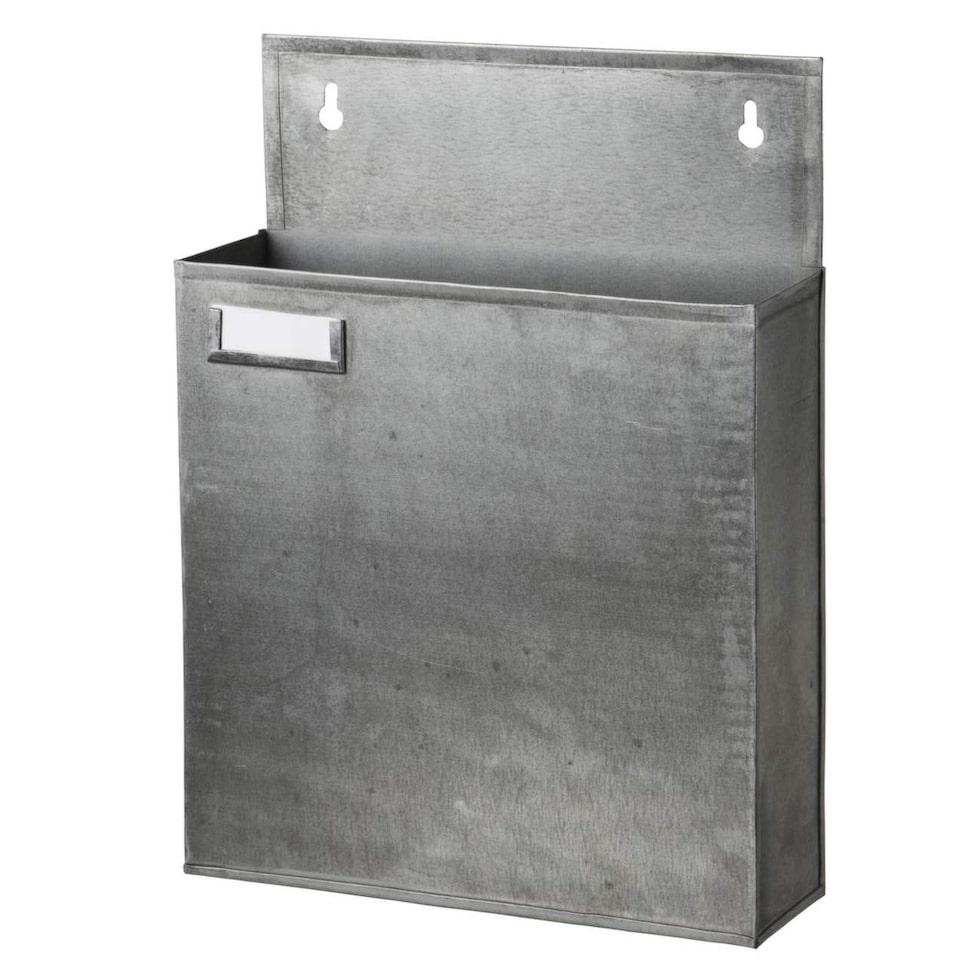 För viktiga papper. Räkningar och viktig post kan förvaras i väggfack, 189 kronor, Granit.