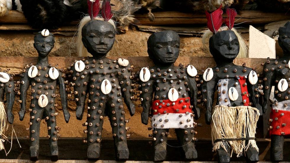 I Togo ligger världens största voodo-marknad.