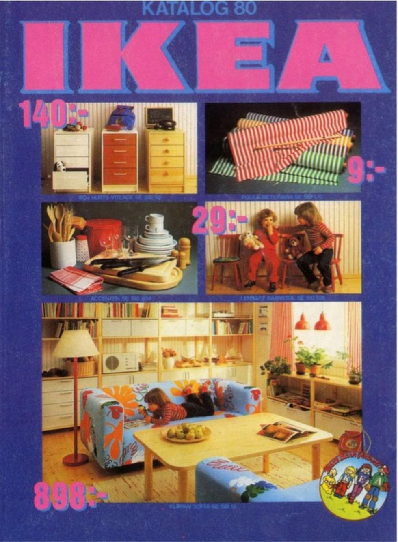 Färgglatt omslag, 1980.