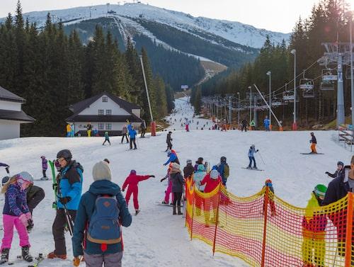 Jasná – den bästa skidorten i Slovakien.