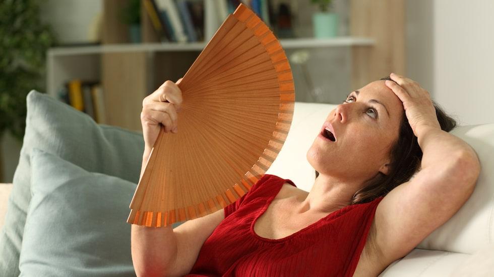 Värmevallningar är inte det enda som dyker upp under klimakteriet.