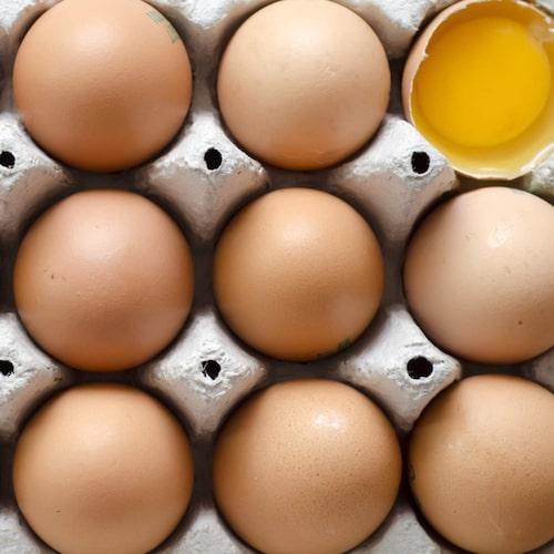 För mycket ägg ger högt kolesterol. Eller?
