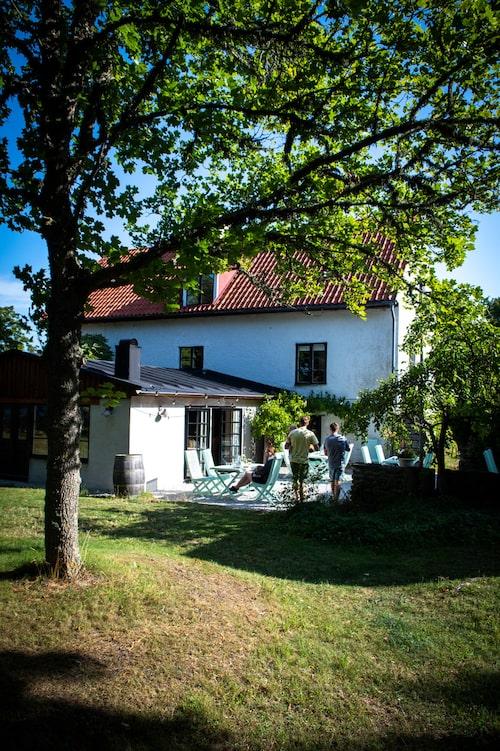 Stelors boutiquehotell i Västergarn är en renoverad gård från 1820-talet.