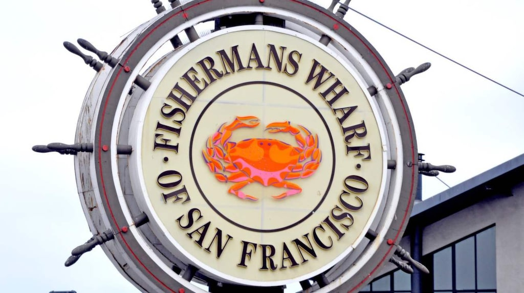 Fisherman's Wharf ligger granne med Pier 39.
