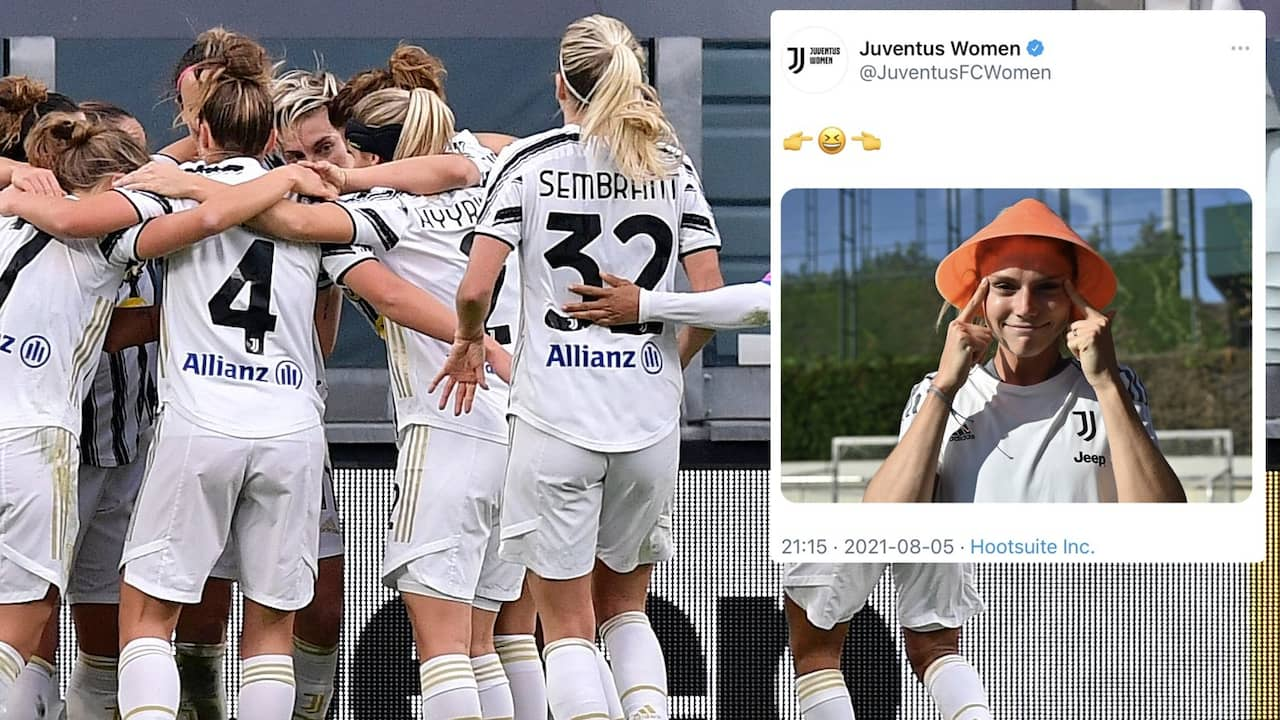 Sponsorn i samtal med Juventus efter bilden