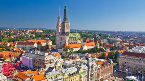 Kroatiens huvudstad Zagreb får två direktlinjer i sommar.