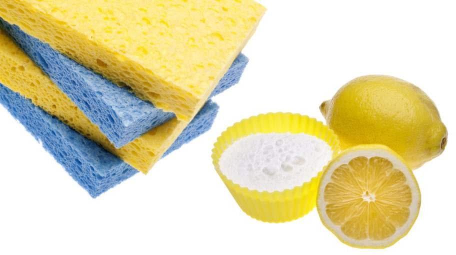 Bakpulver och citroner kommer man långt med!