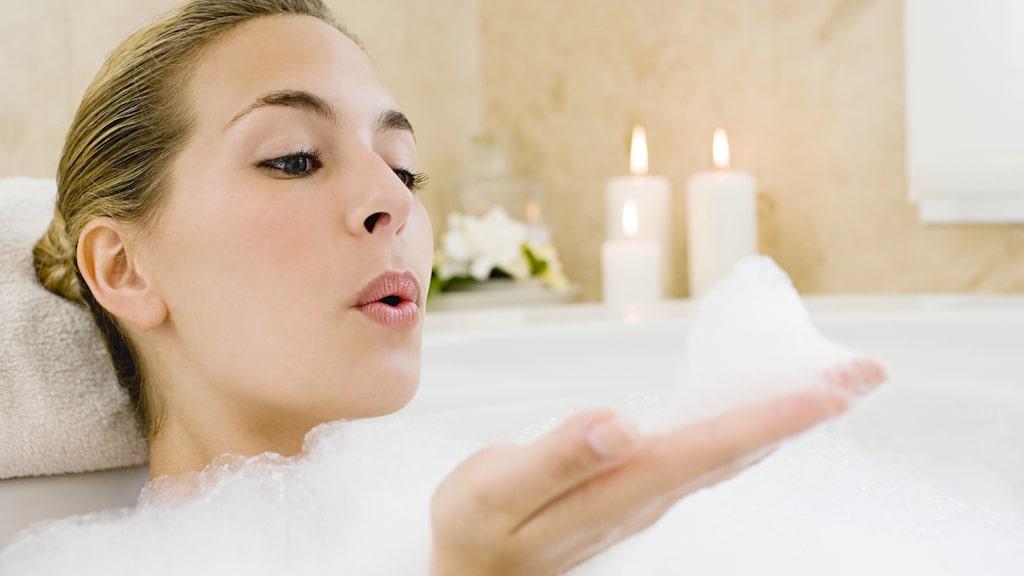 Ett hett bad är inte bara skönt och avslappnande.