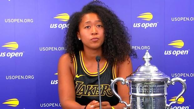 Naomi Osaka vann US Open 2020 efter rysare