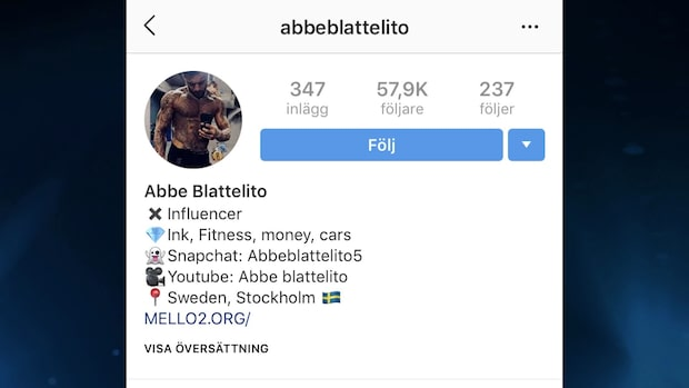 Abbe Blattelito dömds till 18 års fängelse för mord