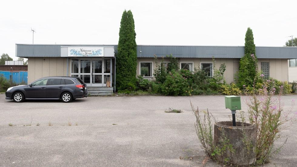Den gamla kontorsfastigheten i Mockfjärd har tidigare bland annat använts som barnavårdscentral.