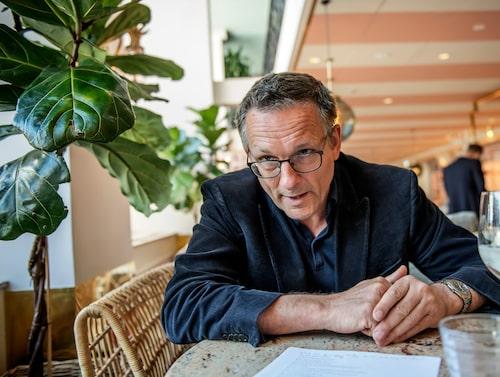 Michael Mosley i intervju med Exprssen.