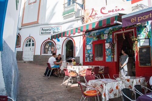 Är du ute efter en perfekt pasta ska du bege dig till La Cucina i Puerto de Mogán.