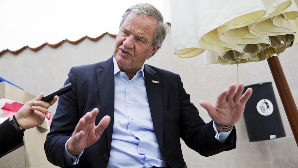 Norwegians vd är i Stockholm för att träffa näringsminister Mikael Damberg (S).