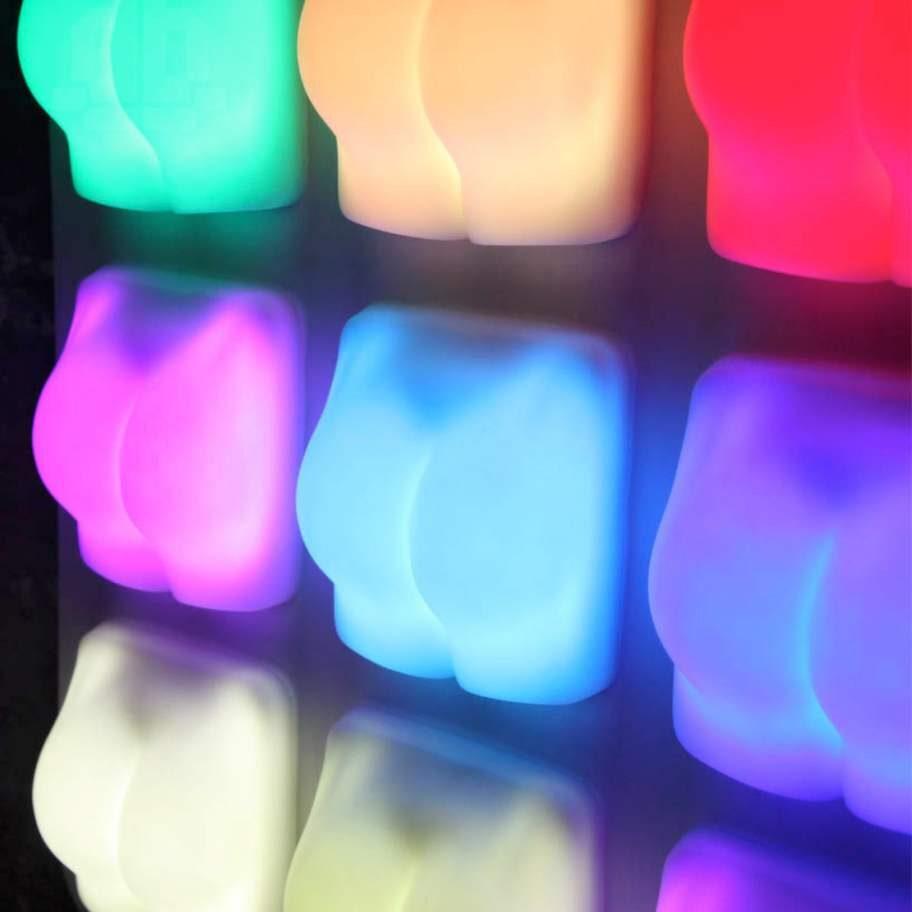 Strålande stjärt. En lampa i lite ovanligare form har designats av Joseph Begley. En smekning eller lite smisk krävs för att tända den.