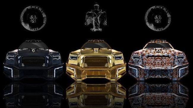 Dartz Prombron Black Alligator är i grunden en Mercedes GLS63 AMG – kraftigt ombyggd.