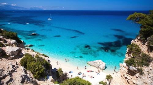 SAS flyger direkt till Olbia på Sardinien från Köpenhamn två gånger i veckan under sommaren.