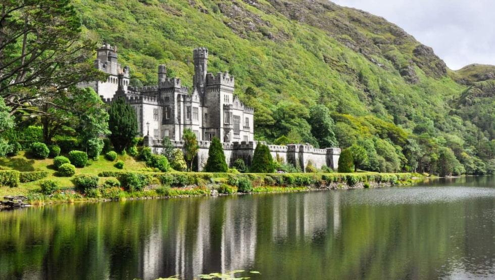 Det sagolika slottet Kylemore Abbey.