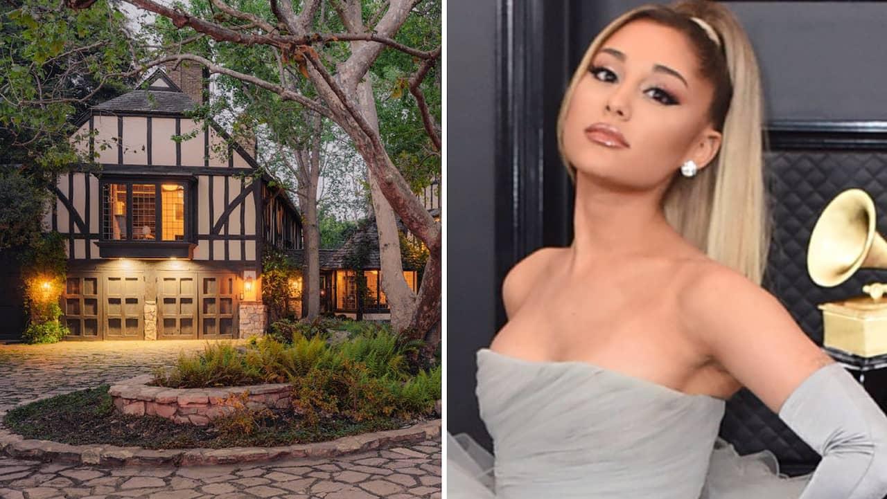Ariana Grandes och makens mångmiljonvilla – se bilderna