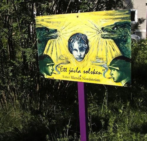 Konstnären Eva Zettervalls verk med motiv från litteraturen.