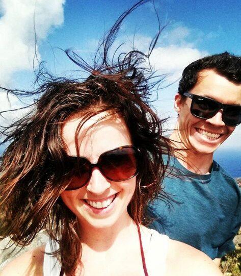 Katie-Anne Salter och Jacob Lanigan firade semester i USA när de var med om en olycka, som visade sig skulle kunna ha blivit dyr.