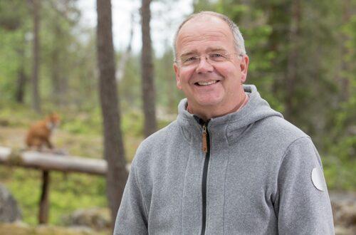 """Bent Christensen, naturexpert i SVT:s """"Studio natur""""."""