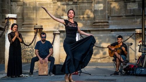 Flamencon föddes i Andalusien.