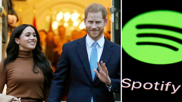 Prins Harry och Meghan gör podd för svenska Spotify