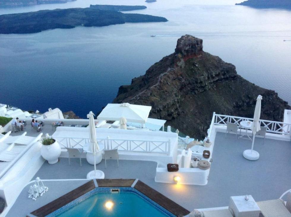 1. Thea Apartments, Imeroviglion, Santorini, Grekland