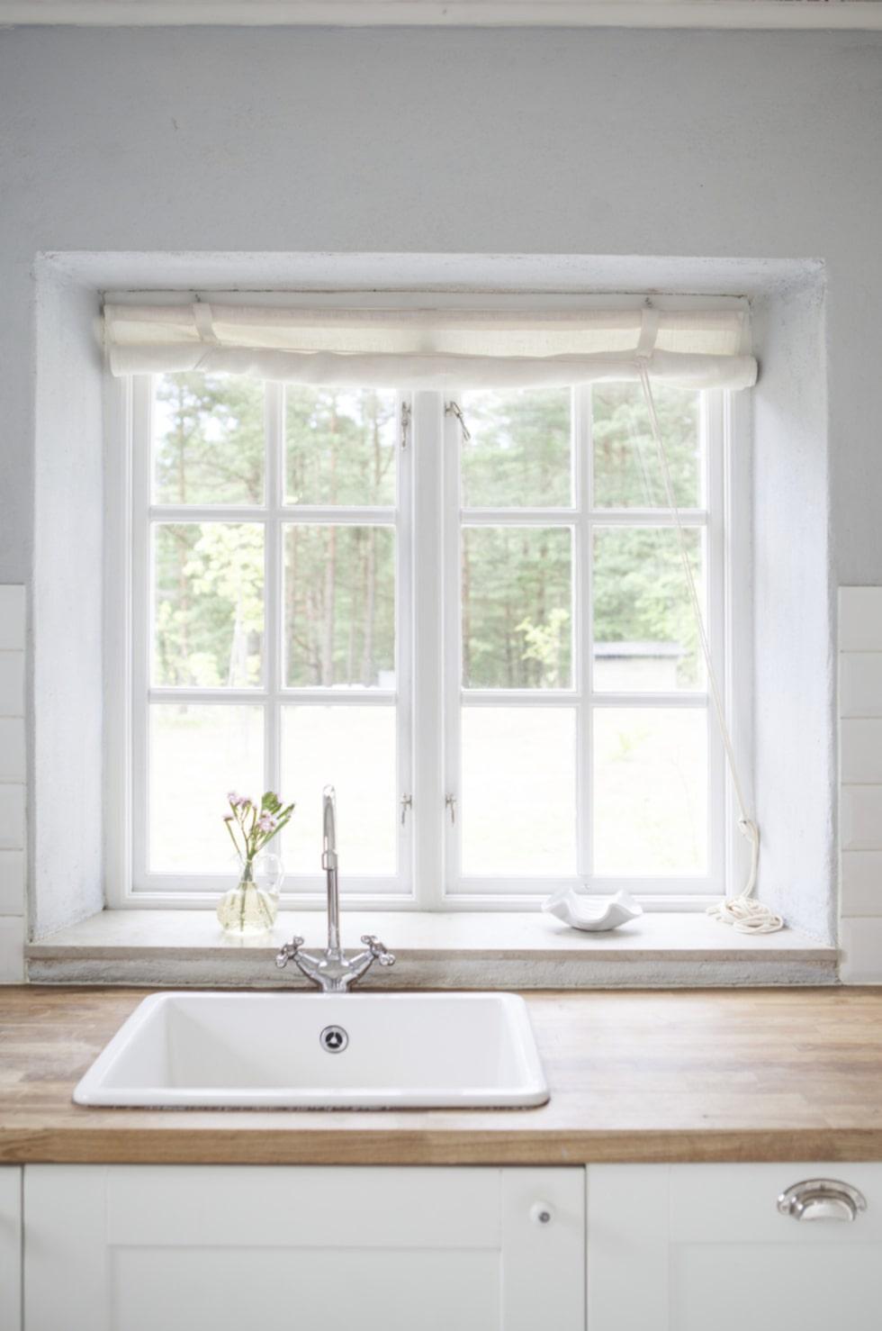 Utsikten från köksfönstret.