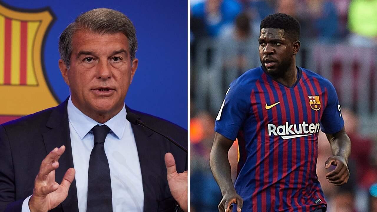 Umtiti i tårar efter mötet med Barça