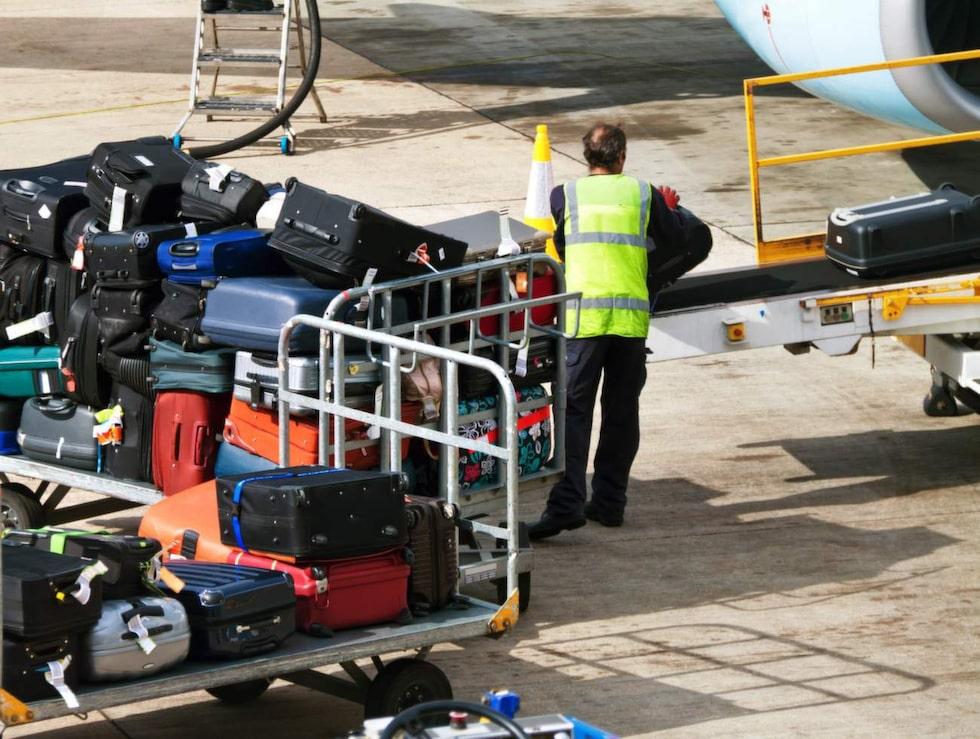 Med hjälp av chipset kan du hålla koll på  ditt bagage via mobiltelefonen.