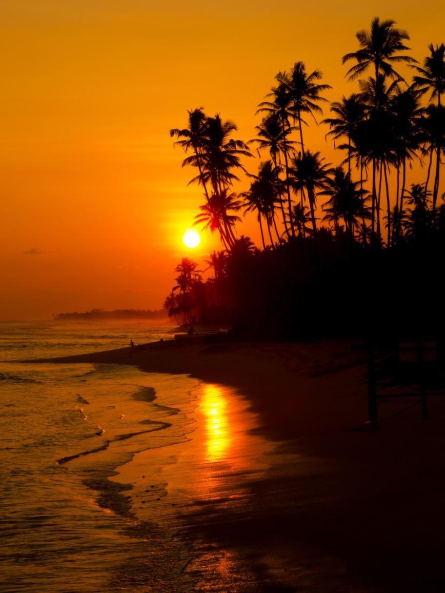Solnedgångarna över havet är fantastiska!
