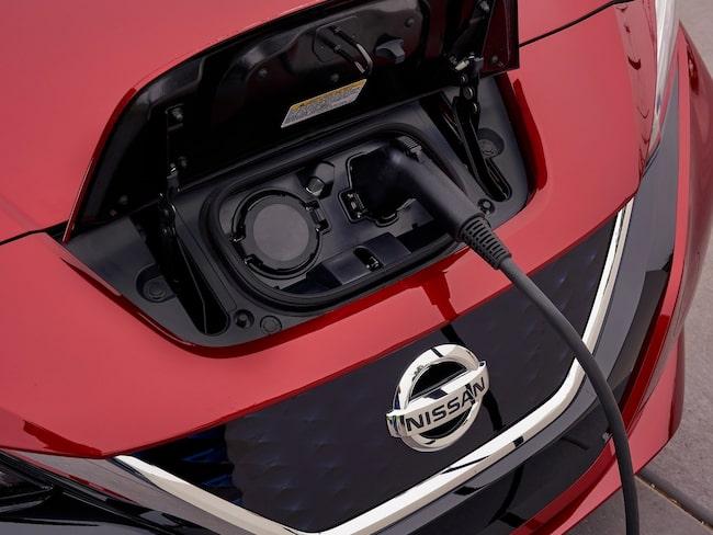 Nissan Leaf och de andra elbilarna är på stark frammarsch visar statistiken från Bil Sweden.