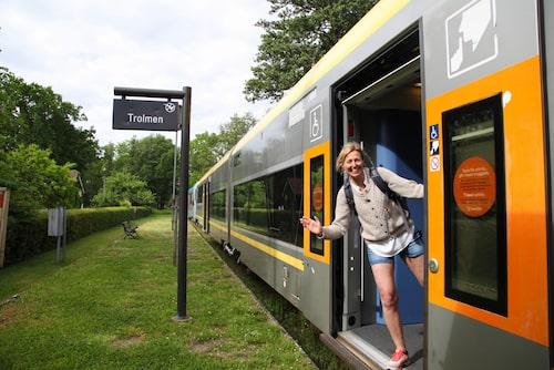 Kinnekullebanan utsågs för några år sedan till Sveriges vackraste tågresa.