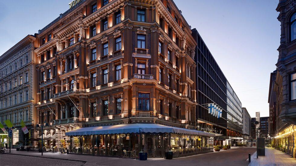 Hotel Kämp som i år firar 130-års jubileum.