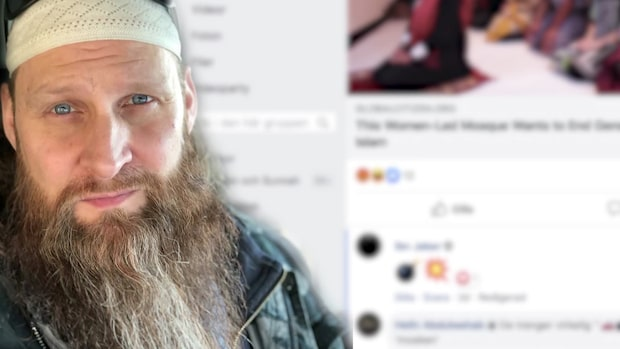 Lars Ståhl, 47, leder slutna IS-grupper på Facebook