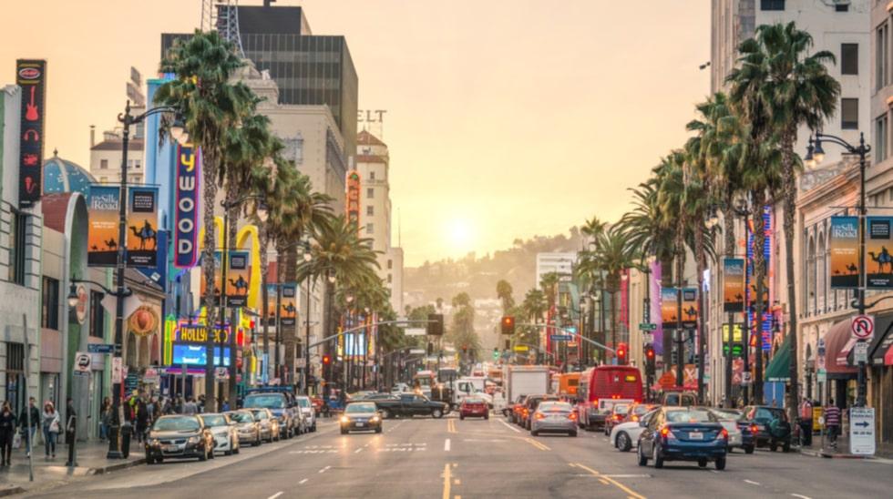 Hollywood Boulevard har en snuskig historia.