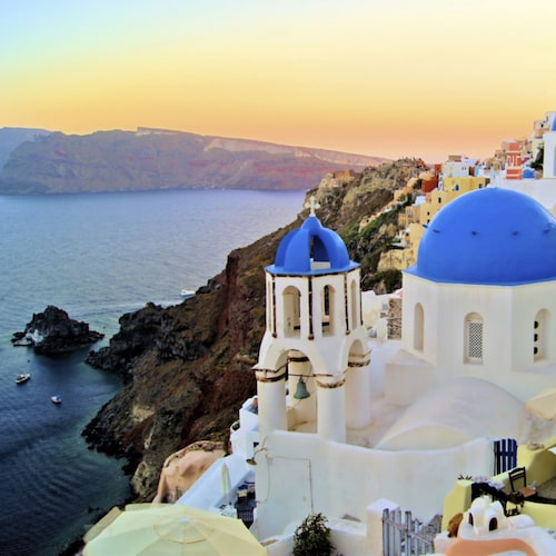 Vackra Santorini