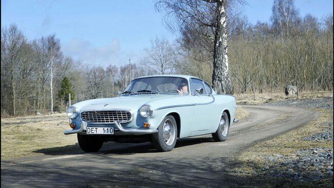 Volvos klassiska modell P 1800 S finns med på 90-årsutställningen i Essen.