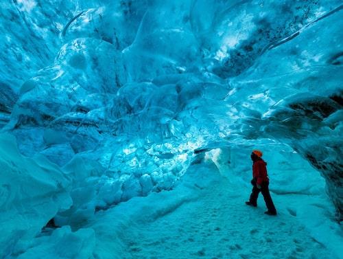 Vatnajökull är Europas största glaciär.