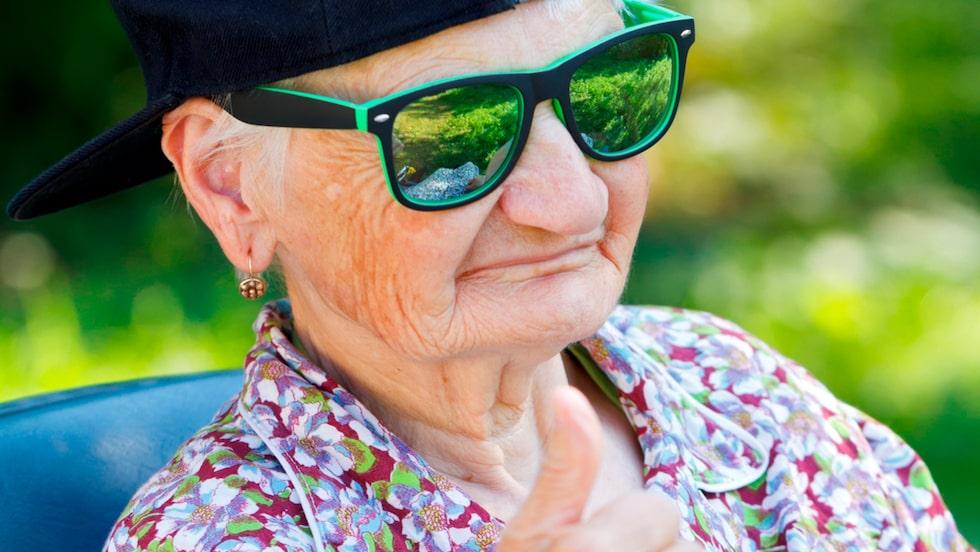 Vem har sagt att det bara är negativt att bli äldre? En ny svensk studie visare att vi bland annat blir mer kreativa.