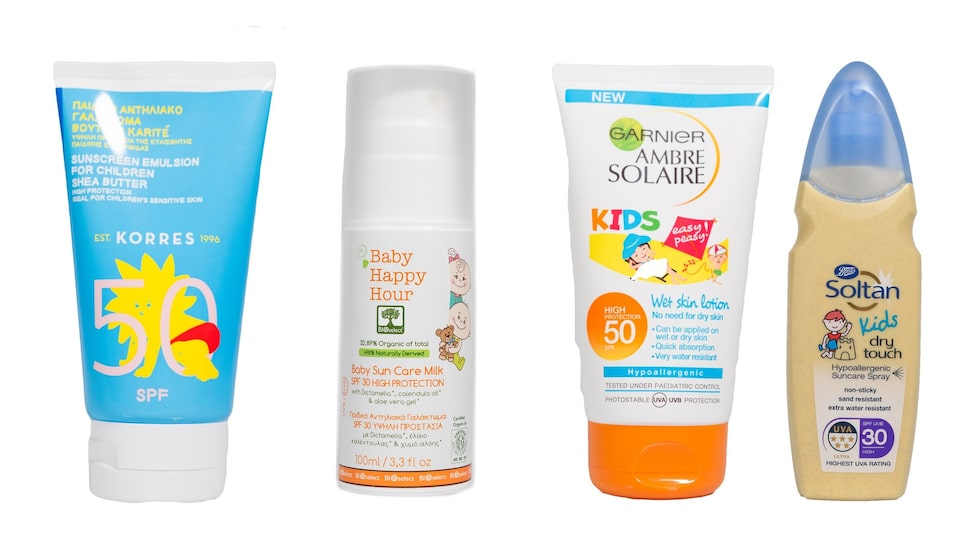Produkterna för barn som fick sämst resultat enligt norska Forbrukerrådet.