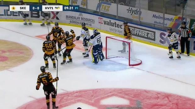 Highlights: HV71 spelar sin första match med nya ledarstaben