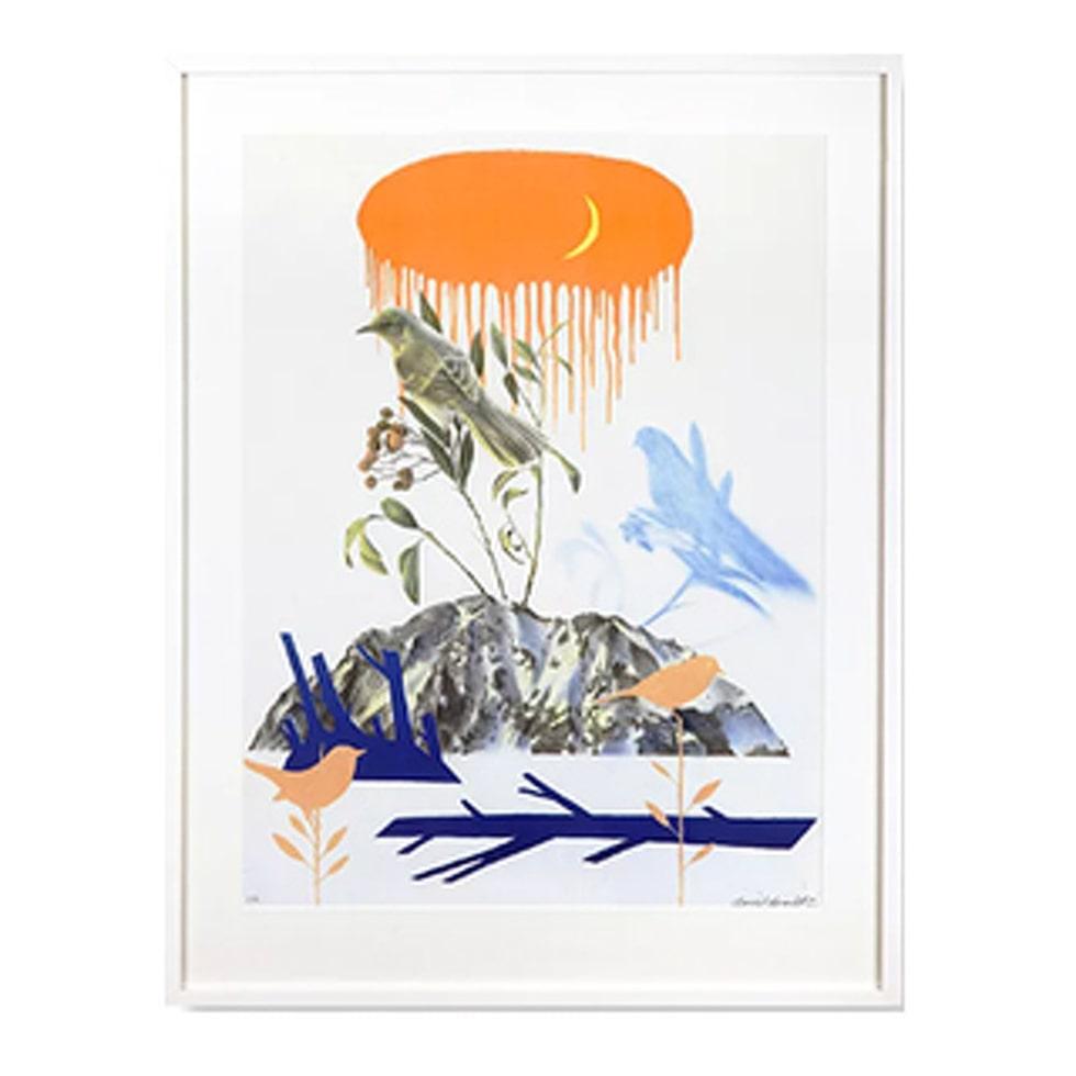 Motivet Det hördes en sång av Daniel Grunditz finns nu i LEVA&BO:s konstgalleri. Klicka enkelt på plustecknet i bilden för att handla.