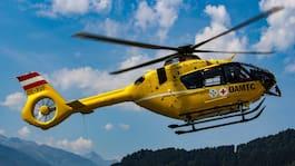 Svenska störtade i Alperna – till sjukhus med helikopter