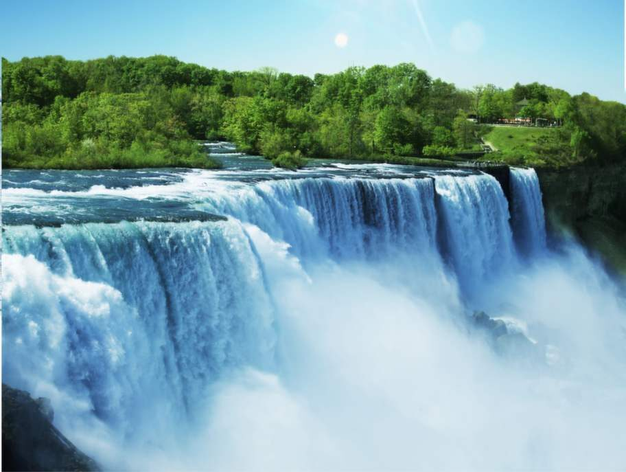 Niagarafallen, Kanada/USA.