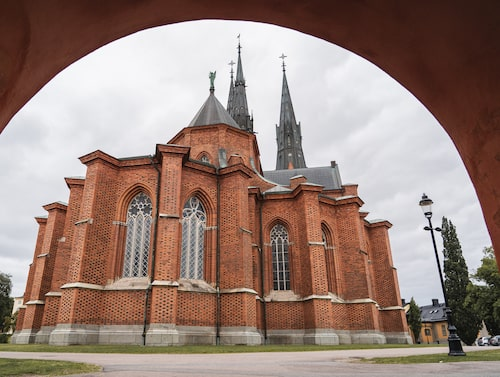 Uppsala domkyrka invigdes 1435.