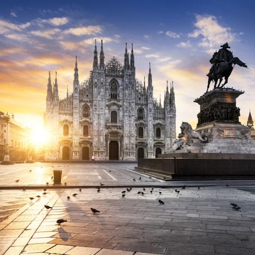 Milano är den italienska stad som är minst italiensk.